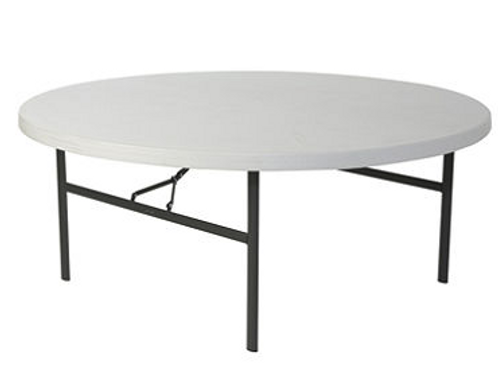 Table Round 1.5m Wooden Seats 8