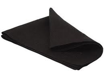 Napkins Black approx 500m Sq
