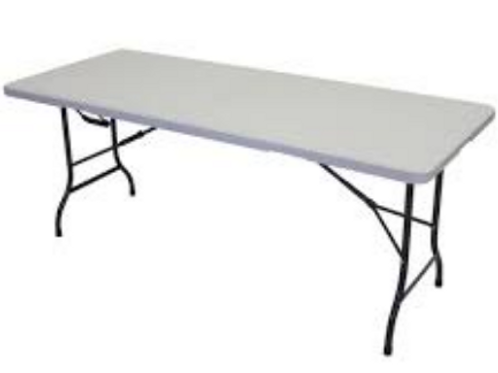Table Trestle 1.8L x 760W seats 6-8