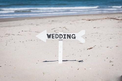 Sign Wedding (White Background)
