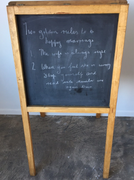 Black Board Double sided