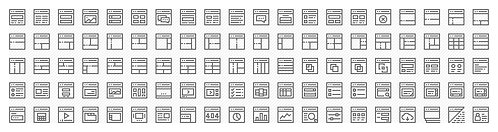 Wireframe Layout - Extended