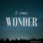 I Choose Wonder