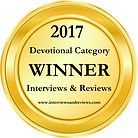 Gathering Dandelions by Melissa Maimone won Devotional of the Year in 2017