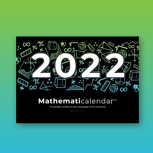 2022 Mathematicalendar (DD-MM)
