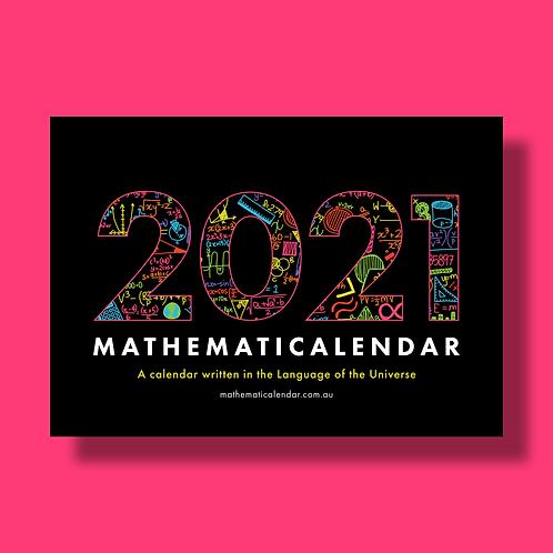 2021 Mathematicalendar  (Day-Month-Year format)