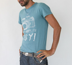 Blue Personalized Printed T-shirt 2