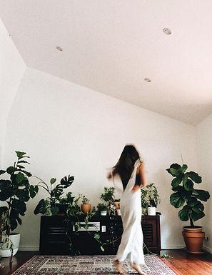 nature, plants, dancing, girl boss