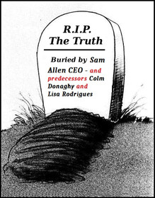 Sam Allen, CEO Sussex Partnership NHS Foundation Trust's Role in the Cover-Up