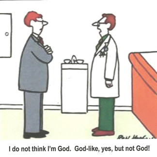 """The Doctor's """"God Complex"""" ~ and How the NHS Defends Them as Infallible 'Gods'"""