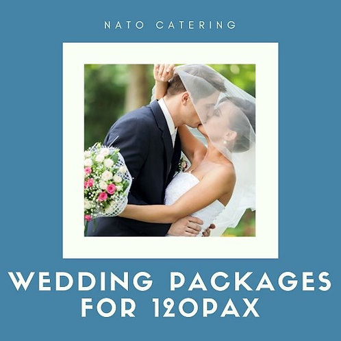 WEDDING PACKAGES FOR 120PAX