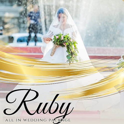 RUBY WEDDING PACKAGES