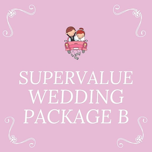 SUPER VALUE WEDDING B (100PAX)