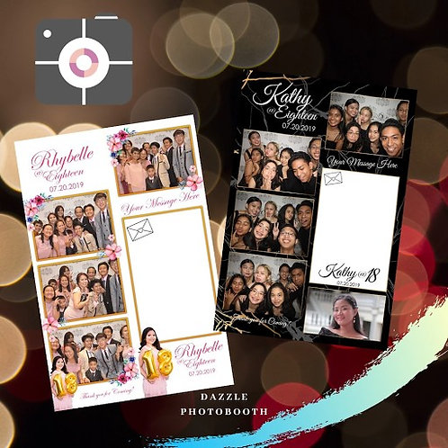 Magnetic/ Film strip Photobooth