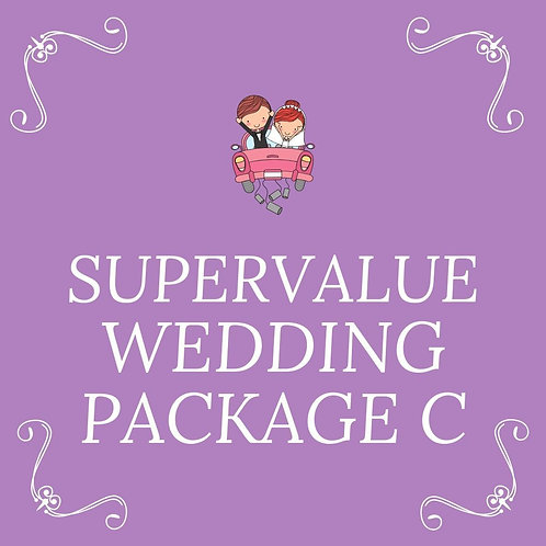 WEDDING SUPER VALUE C (65PAX)