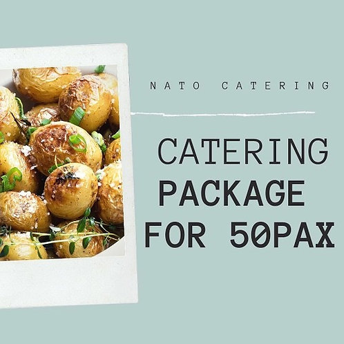 CATERING BUFFET PACKAGES FOR 50PAX