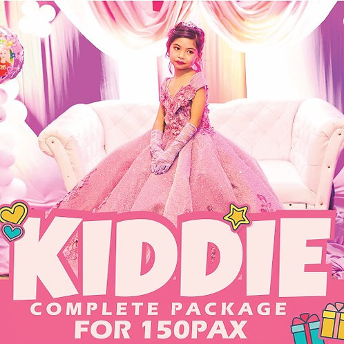 COMPLETE KIDDIE PACKAGE FOR 150 PAX