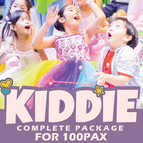 COMPLETE KIDDIE PACKAGE FOR 100 PAX