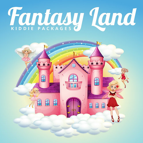 FANTASYLAND KIDDIE PACKAGE (50Adults/20 Kids)