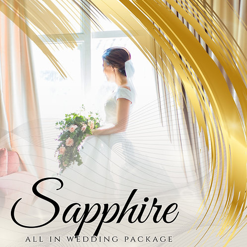 SAPPHIRE WEDDING PACKAGES