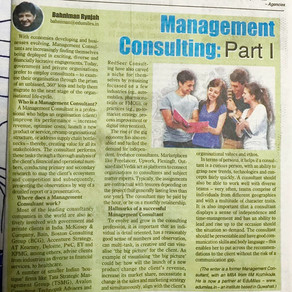 Management Consulting – a rewarding career choice