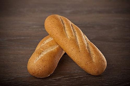 "9"" Sub Bun 40% Whole Wheat Dough"