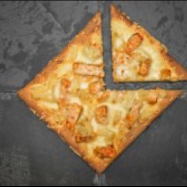 """Coco Brooks -  GF Mardi Gras 7"""" Pizza"""