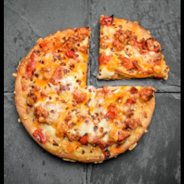 """Coco Brooks - Santa Fe Chicken 8"""" Pizza"""