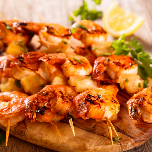 Shrimp and Scallop Skewers 6/pack