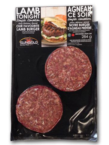 Our Favourite Lamb Burger