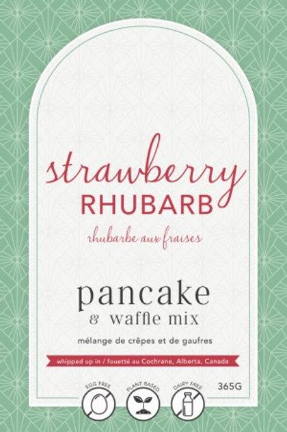 Lannie Rae Gourmet - Strawberry Rhubarb Pancake & Waffle Mix