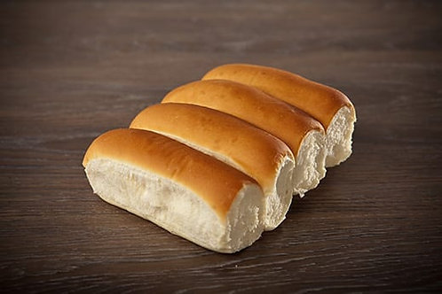 Hot Dog Bun White Dough