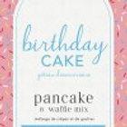 """Lannie Rae Gourmet - Birthday Cake """"Pink Box"""" Pancake & Waffle Mix"""