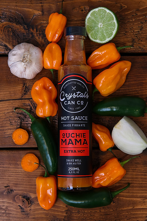 Crystal's Can Co. Ouchie Mama Extra Hot Sauce