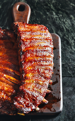 Smoky Barbecue Back Ribs