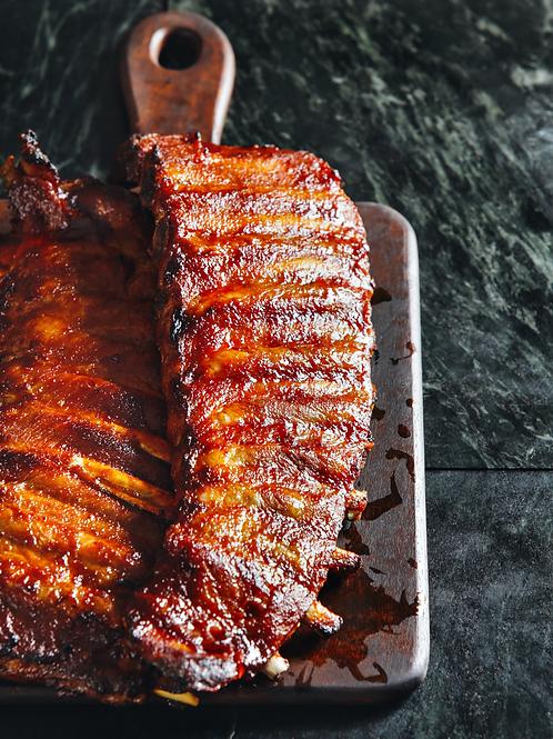 Smoky Barbecue Back Ribs