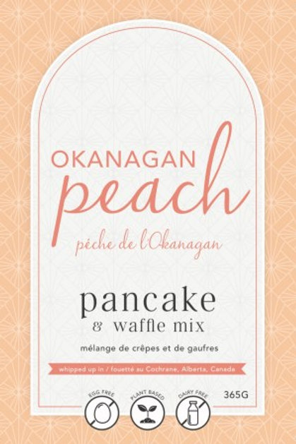 Lannie Rae Gourmet - Okanagan Peach Pancake & Waffle Mix