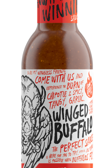 Bow Valley BBQ - Winged Buffalo Hot Sauce
