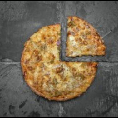 "Coco Brooks - Classic Veggie 8"" Pizza"