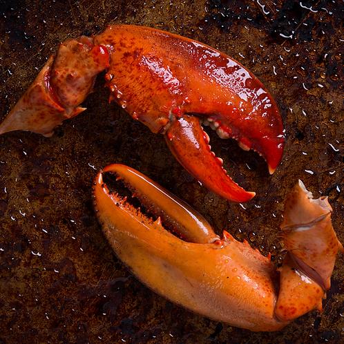 PEI Atlantic Lobster Arm & Claw scored, 2 LBS.