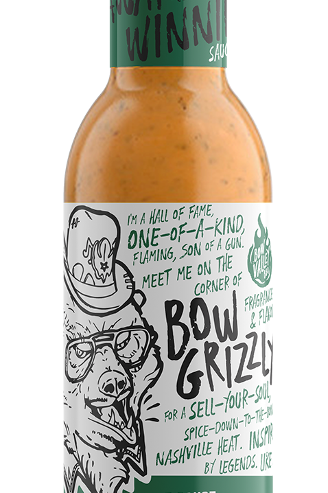 Bow Valley BBQ - Bow Grizzly Hot Sauce