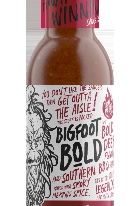 Bow Valley BBQ - Bigfoot Bold BBQ Sauce