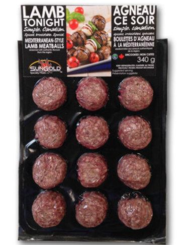 Lamb Mediterranean Meatballs