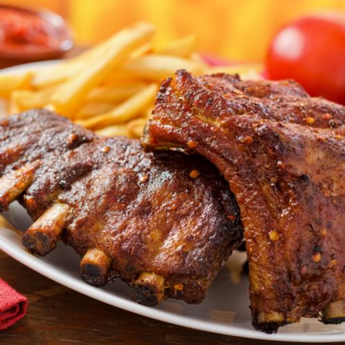 Pork Back Ribs - 16/20 oz, 35 racks