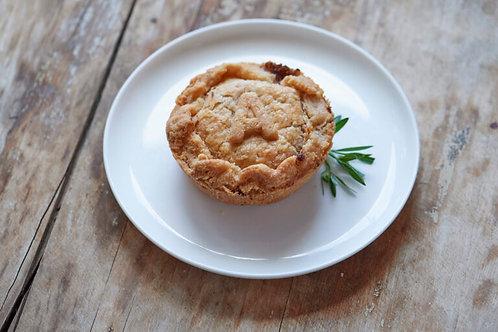 """Aussie-Style Beef - Pie  Junkie-  5"""" Savoury Pie"""