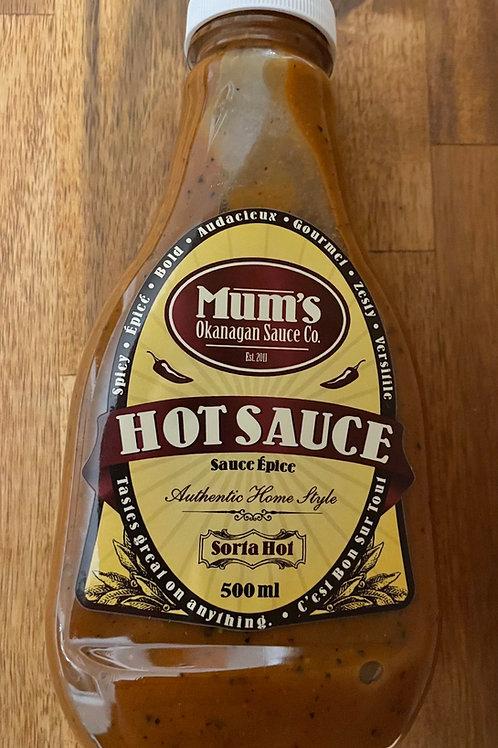 Mum's Hot Sauce - Sorta Hot