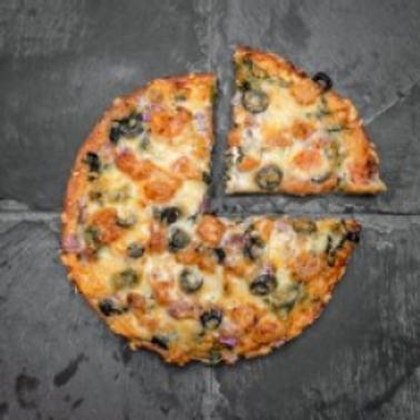 """Coco Brooks - Spinach Grande 8"""" Pizza"""