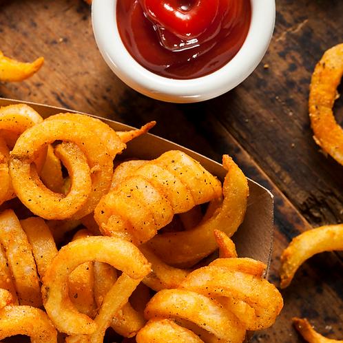 Spiral Spicy Fries