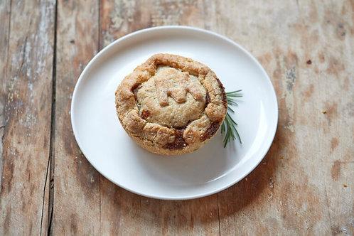"""Steak & Mushroom - Pie Junkie-  5"""" Savoury Pie"""