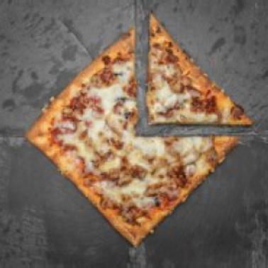 "Coco Brooks -  GF Cheeseburger 7"" Pizza"
